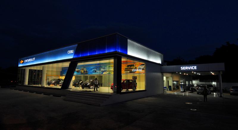 Showroom Chevrolet Philippines